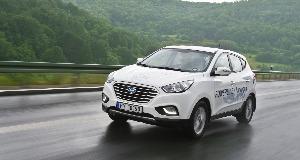 Hyundai ix35 Fuel Cell a inregistrat un nou record de viteza