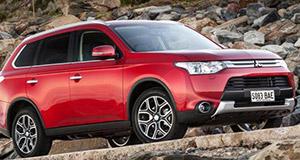 Mitsubishi Outlander Facelift, disponibil in Romania incepand cu luna aprilie 2014