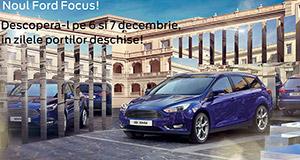 Noul Ford Focus – Imposibilul devine acum posibil la Tiriac Auto!