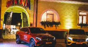 Noul GLC Coupe, prezentat de Tiriac Auto la Oradea