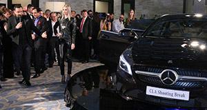 Tiriac Auto a prezentat in premiera absoluta noul CLA Shooting Brake de la Mercedes-Benz