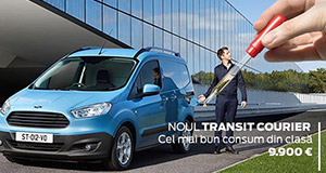 Tiriac Auto iti prezinta noul Ford Transit Courier!