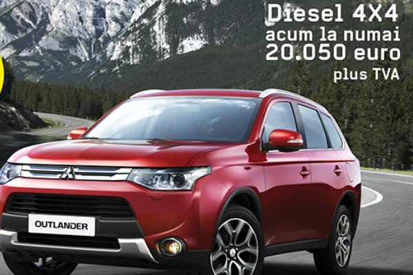 Cel mai bun pret pentru un SUV Mitsubishi Outlander!