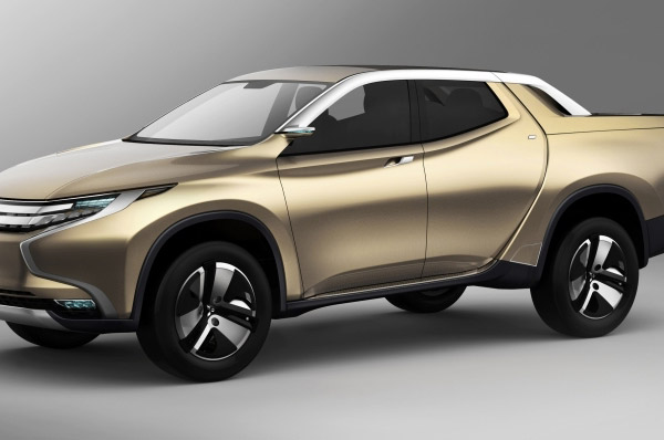 Conceptul Mitsubishi GR-HEV*Pick-up-ul Hibrid