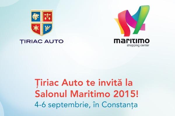 Ţiriac Auto participă la Salonul Auto Maritimo 2015