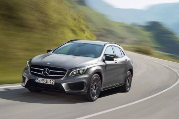 Mercedez-Benz GLA - mereu in miscare!