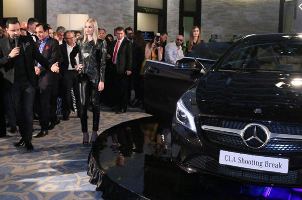 Tiriac Auto a prezentat in premiera absoluta noul CLA Shooting Brake de la Mercedes-Benz