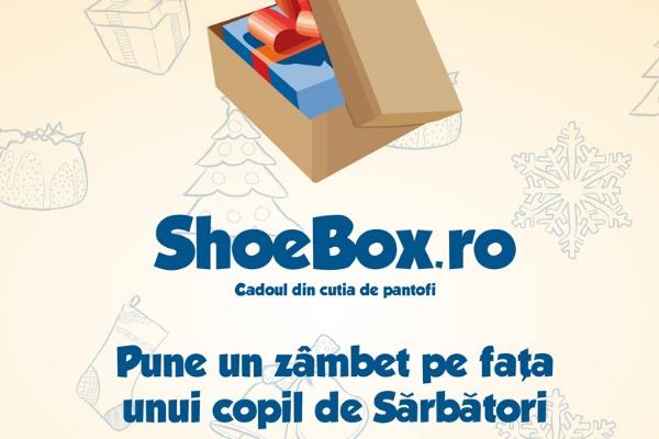 Tiriac Auto se implica in proiectul ShoeBox – Cadoul din cutia de pantofi