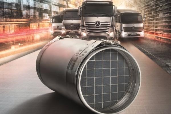 Filtre de Particule Diesel remanufacturate pentru toate camioanele Euro VI de la Mercedes-Benz!