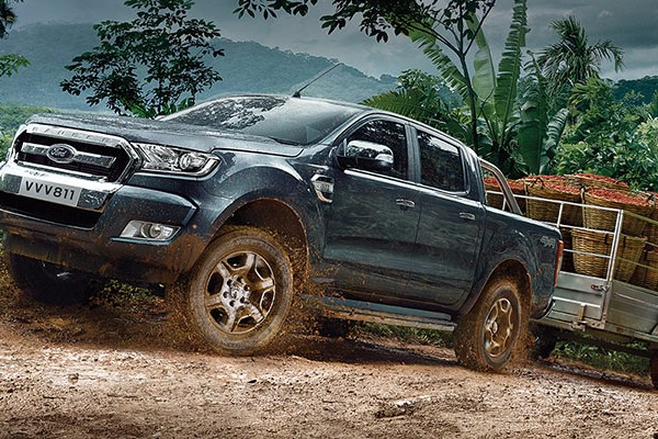 Noul Ford Ranger cu doar 288 €* / luna, cu pachetul OFF- ROAD