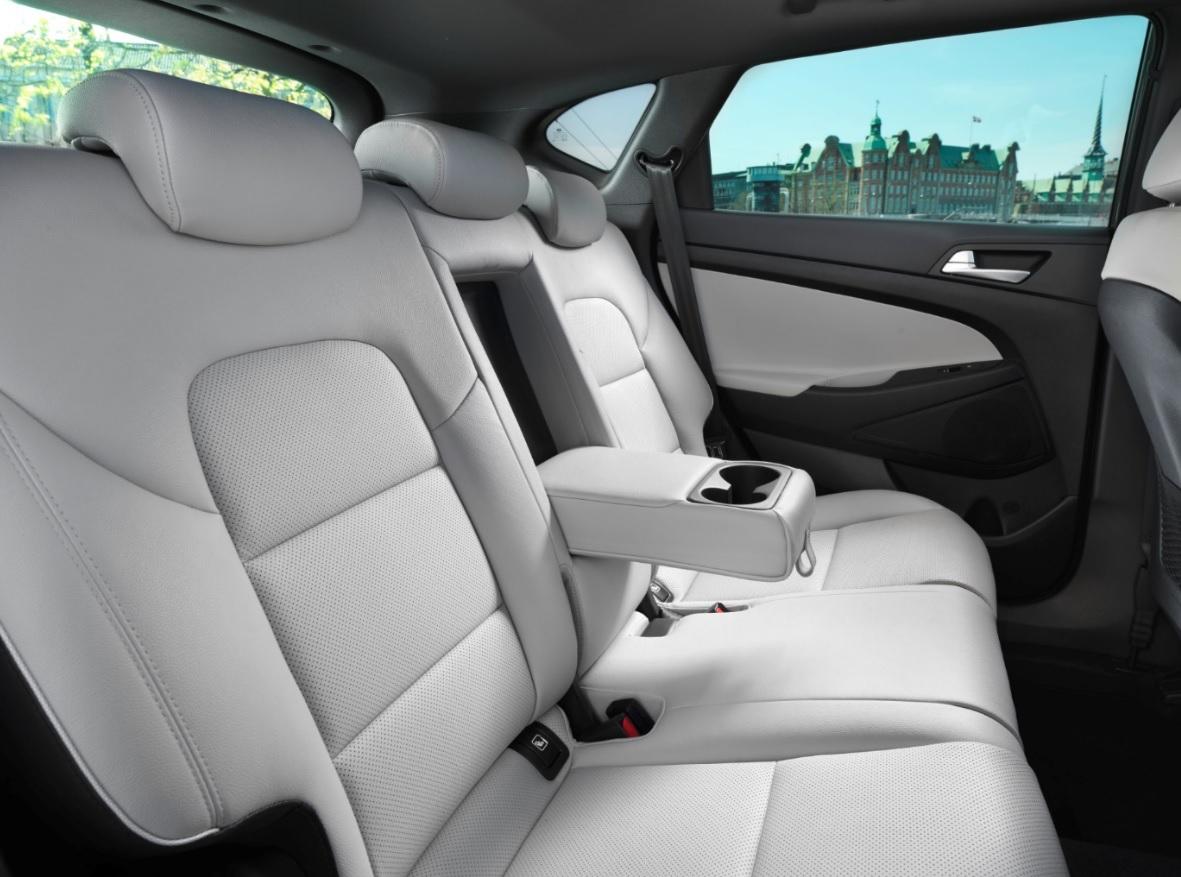 interior noul Hyundai Tucson