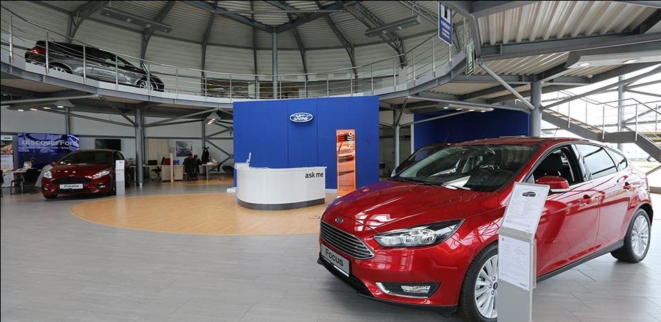 Ford, Hyundai, Mitsubishi, Mercedes-Benz I Pitesti