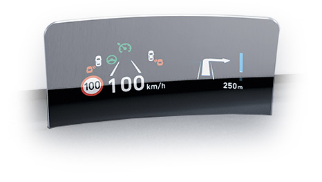 Kona head up display