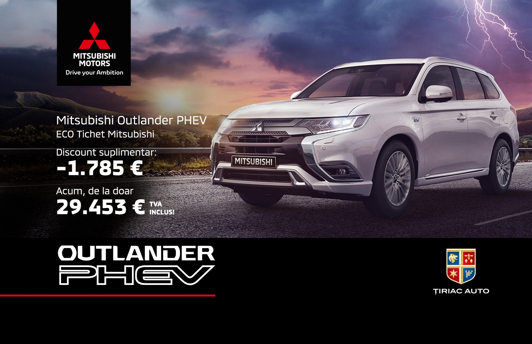 Descopera oferta Mitsubishi Outlander PHEV