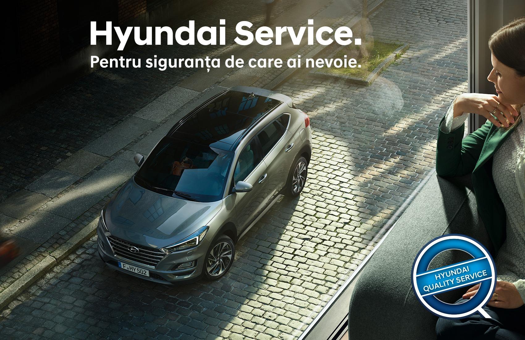 Profita de oferta Service Hyundai