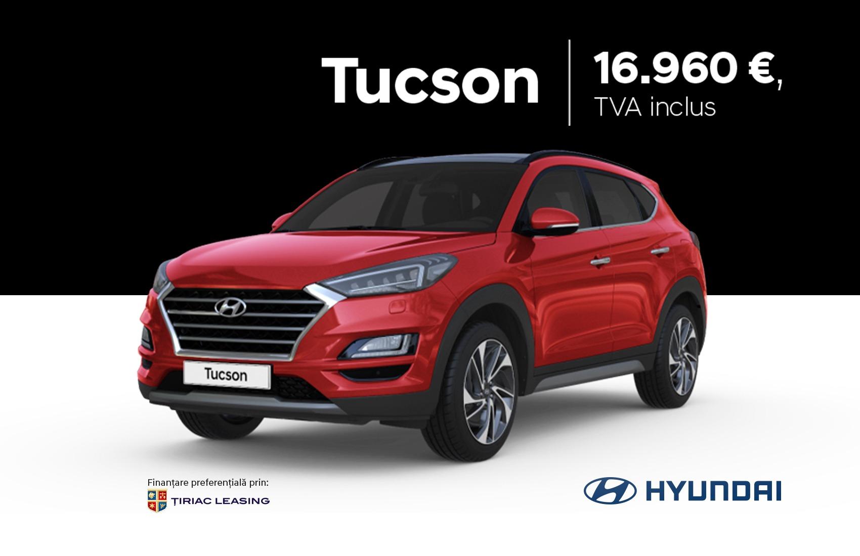 Hyundai Tucson - de la 16.960 EUR, TVA inclus