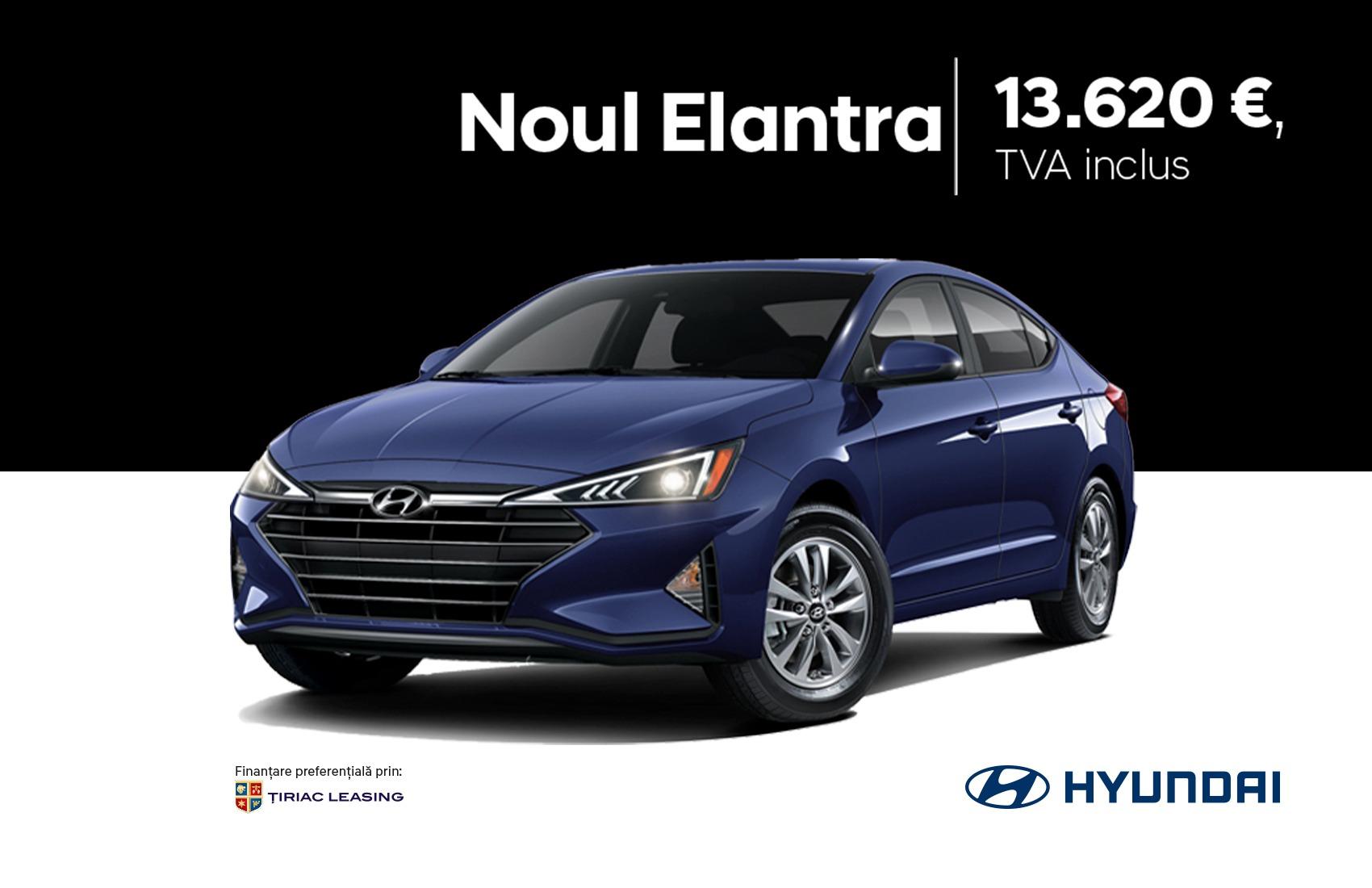 Descopera noul Hyundai Elantra