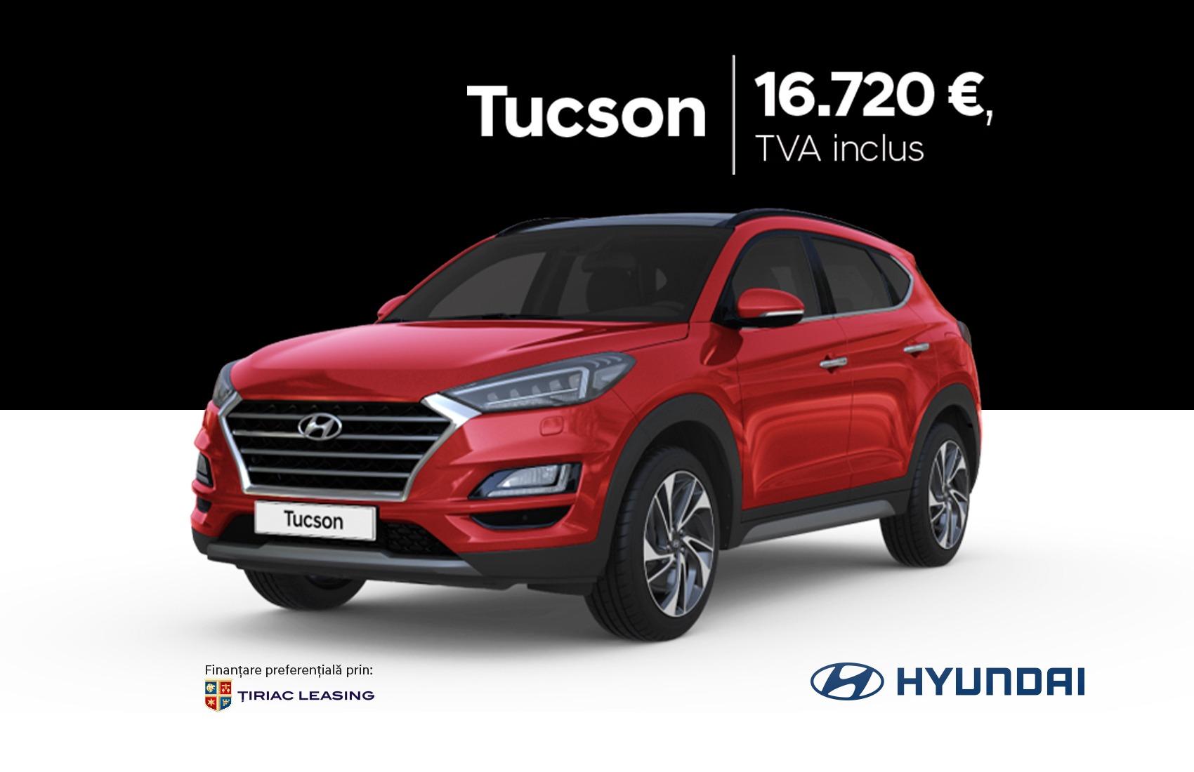 Hyundai Tucson - de la 16.720 EUR, TVA inclus