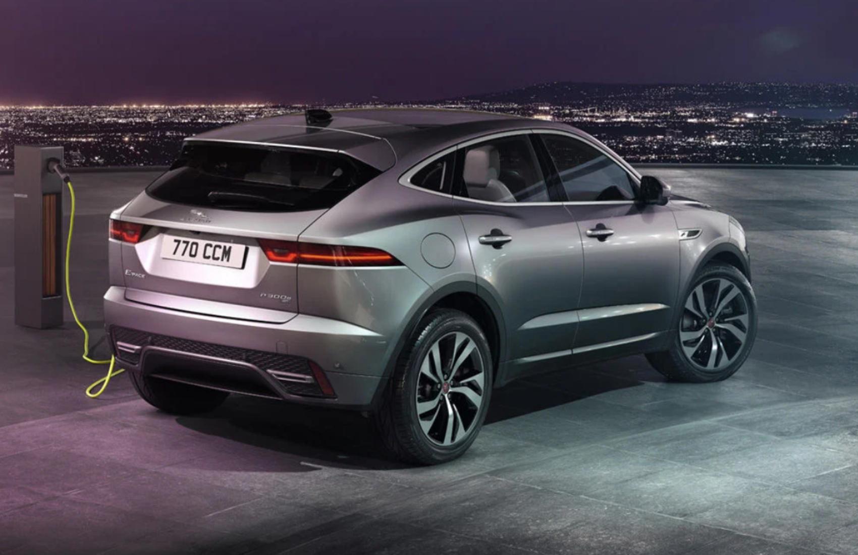 Descopera noul Jaguar E-PACE PHEV
