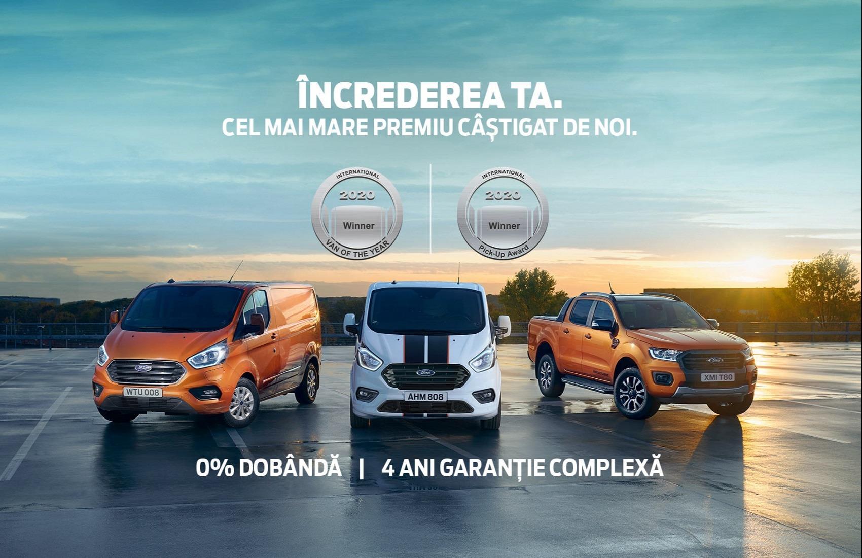 Ford Vehicule Comerciale, pilonul afacerii tale!