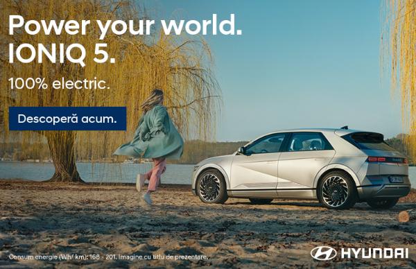 Descopera noul Hyundai IONIQ 5! Pret incepand de la 35.900 euro, TVA inclus!