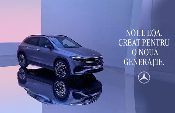 Noul model EQA. Creat pentru o noua generatie.