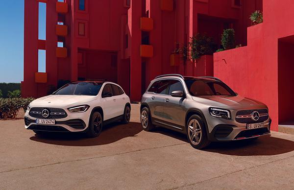 Acceptă provocarea SUV-urilor Mercedes-Benz GLA și GLB.