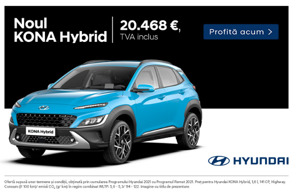 Descopera Ofertele Remat pentru Hyundai Kona