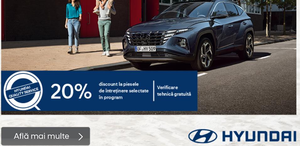Alege oferta Hyundai Service!