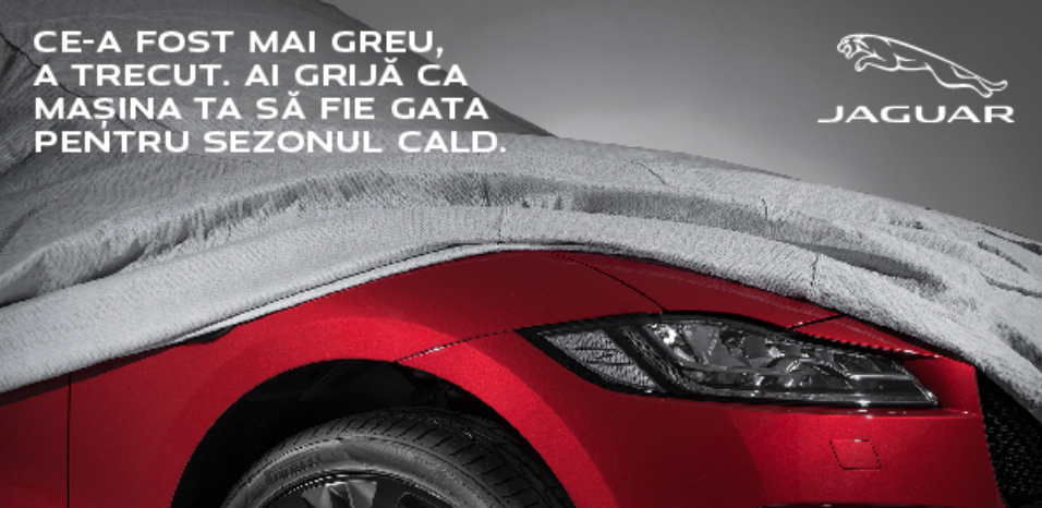 Jaguar- Ai grija ca masina ta sa fie gata pentru sezonul cald