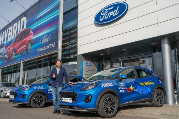 Tiriac Auto, distribuitor autorizat Ford, sustine Federatia Romana de Handbal