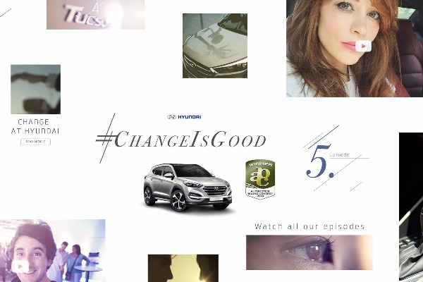 Campania Hyundai Tucson #ChangeIsGood premiata  in cadrul Automotive Brand Contest 2016