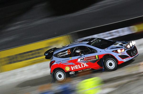 Echipa Hyundai Shell World Rally a accelerat pregatirile pentru Raliul Suediei
