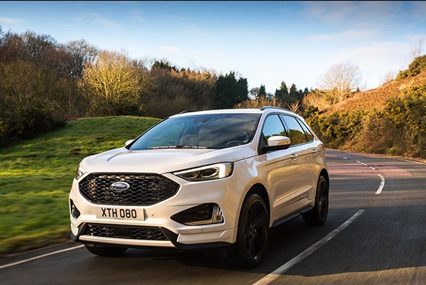 Ford a dezvaluit noul SUV Ford Edge dedicat europenilor, in versiunea sportiva ST-Line