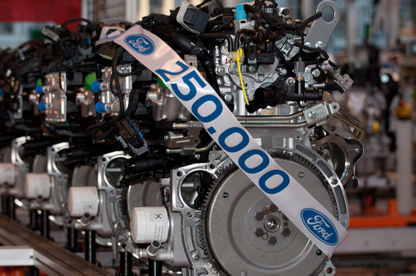Ford construieste motorul cu numarul 250.000 in Romania