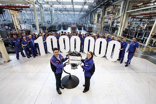 Ford Romania a produs motorul cu numarul UN MILION la fabrica sa din Craiova