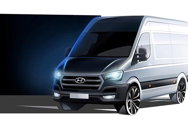 Hyundai anunta lansarea in Europa a noului model H350