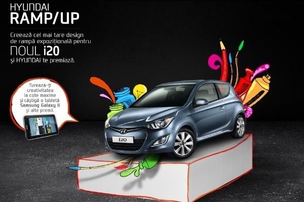 Hyundai Auto Romania te invita sa dezvolti propriul design grafic online