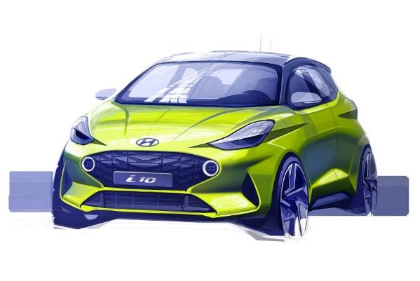 Hyundai dezvaluie prima schita a noului i10