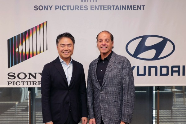 Hyundai incheie un parteneriat cu Sony Pictures Entertainment