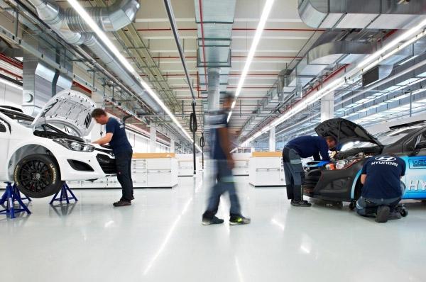 Hyundai Motor a inaugurat noul sediu motorsport