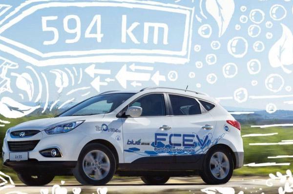 Hyundai Motor a livrat primele 15 unitati ix35 Fuel Cell alimentate cu hidrogen in Europa