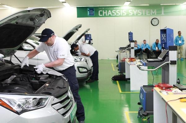 """Hyundai Motor a organizat competitia """"World Skill Olympics"""""""