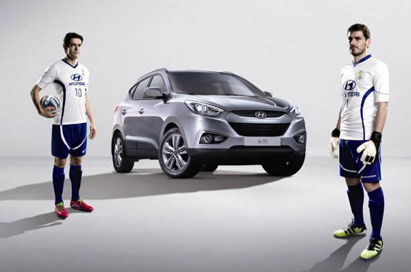 Hyundai Motor i-a desemnat pe Iker Casillas si Ricardo Kaká ambasadori ai marcii in cadrul FIFA 2014