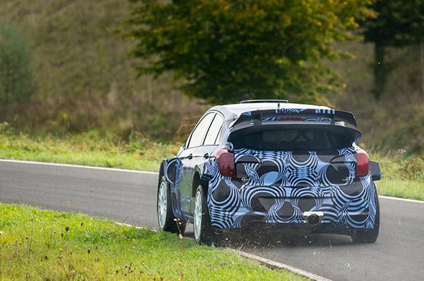 Hyundai Motorsport a inceput testele cu viitorul model WRC bazat pe platforma noului Hyundai i20