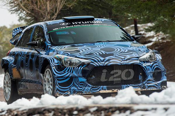 Hyundai Motorsport continua dezvoltarea noii generatii i20 WRC