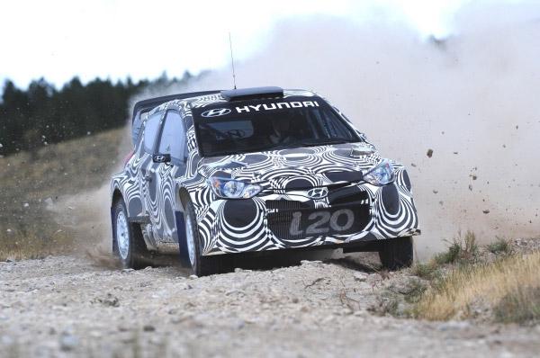 Hyundai Motorsport desfasoara noi teste pentru i20 WRC