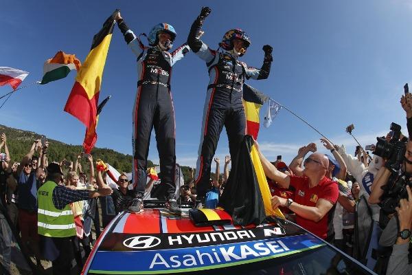 Hyundai Motorsport si Thierry Neuville au castigat Raliul Spaniei