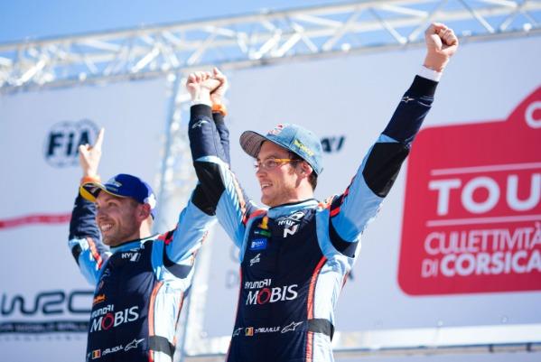 Hyundai Motorsport si Thierry Neuville au triumfat in Turul Corsicii