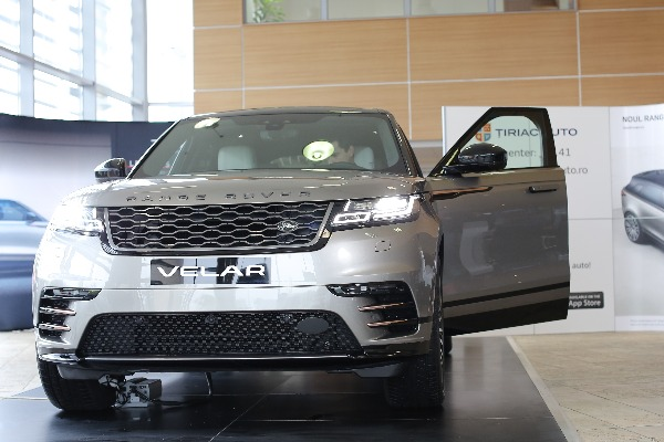 Ţiriac Auto prezintă publicului în premieră noul Range Rover Velar